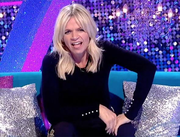 Strictly Come Dancing 2017: Zoe Ball gets 'told off' on It Takes Two - 'dad will kill me'