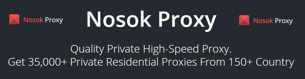Nosok.org - Fast Private Socks5/HTTP Proxies. Special offer for Warriors!