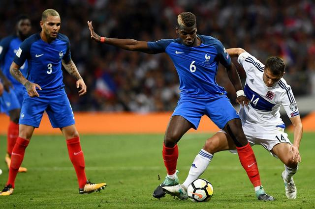 Paul Pogba says France can thrive at the 2018 World Cup without the 'pressure' of being the host nation