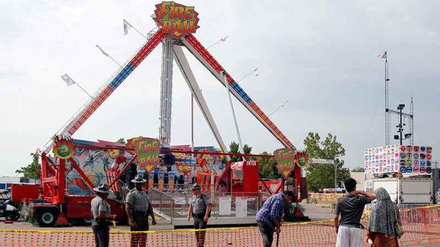 One Person Dead, 7 Injured After 'Fire Ball' Ride Flies Apart At Ohio State Fair
