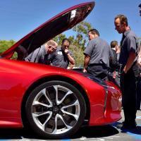 V8 club: Lexus LC500 vs GranTurismo vs Corvette