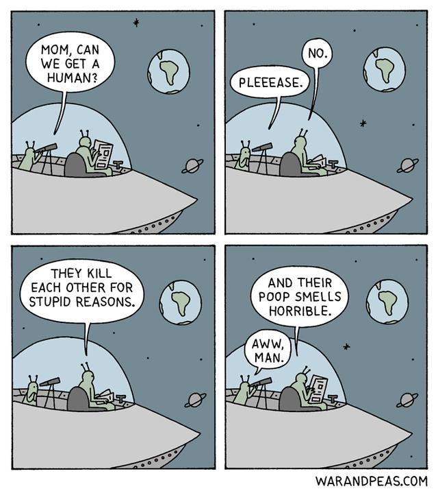 25+ Hilarious Comics With Unexpected Endings By War And Peas (New Pics)