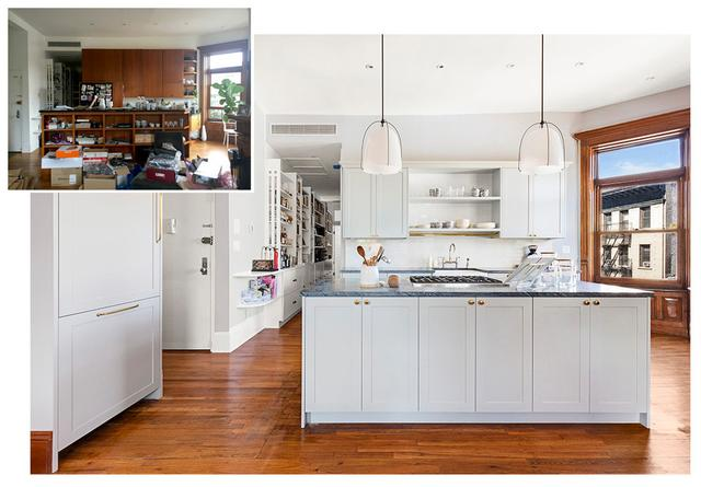 An Overwhelming Brooklyn Kitchen Gets a Refined Makeover
