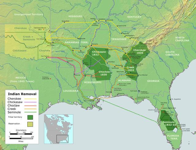 the trail of tears a series of native american forced relocations What is the trail of tears the trail of tears was a series of forced removals of native american nations from their ancestral homelands in the.