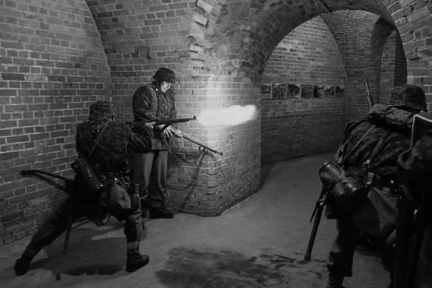 Battle of Konigsberg Renactment In Black and White_国际_蛋蛋赞