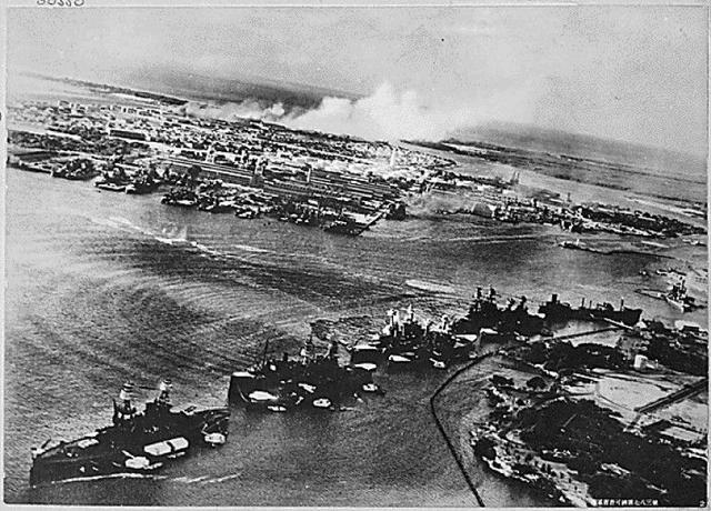 an in depth description of the events of the attack on pearl harbor in 1941 A look back: japanese attack pearl harbor 1 of 31 three us battleships are hit from the air during the japanese attack on pearl harbor on dec 7, 1941.