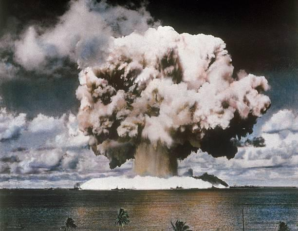 Commit error. Bikini atoll nuclear tests join told