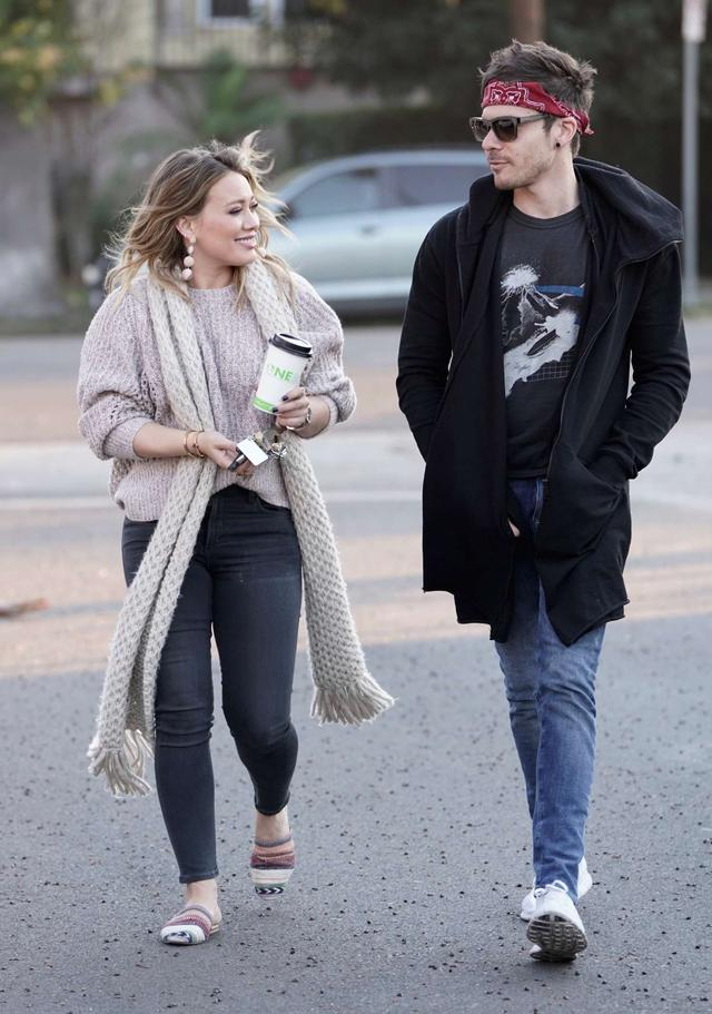 Hilary Duff and Matthew Koma out in Studio City