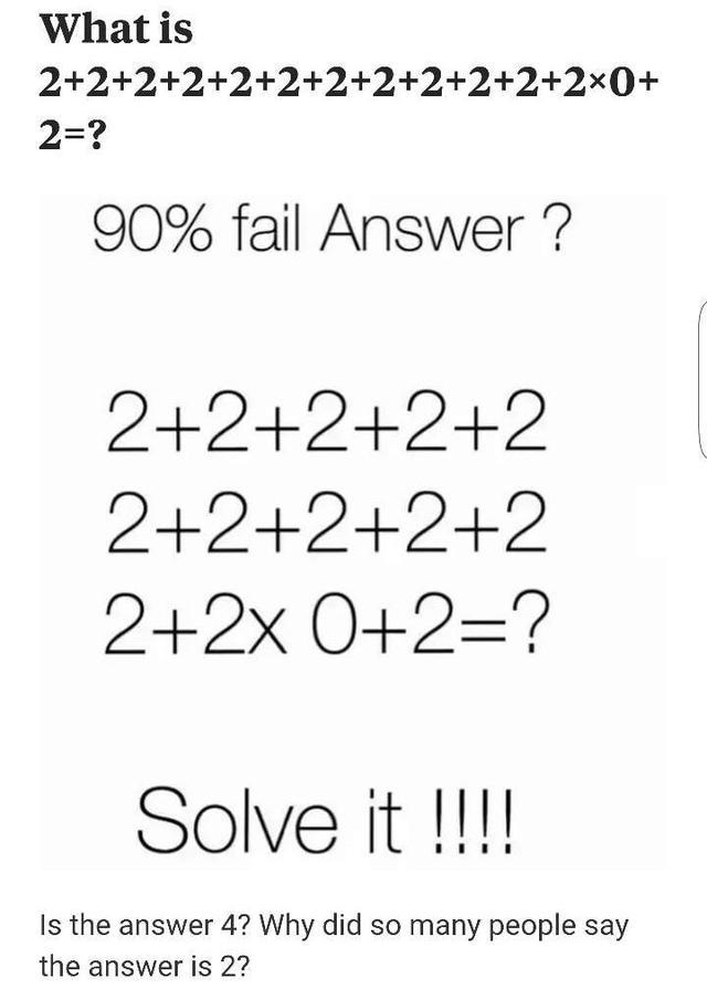 Seemingly easy math problems many people simply can\'t solve_国际_蛋蛋赞