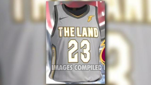 more photos a800f 265c6 LOOK | New Cleveland Cavaliers 'City Edition' The Land ...