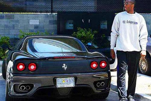 Kobe Bryant Cars >> Cars Of Kobe Bryant Career Drove Rookie Audi Love Ferrari And