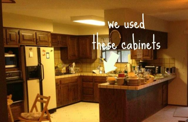 Here\'s a Brilliant Way to Upcycle Your Old Kitchen Cabinets_国际_蛋蛋赞