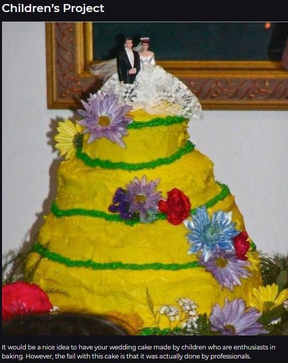 10 Hilarious Wedding Cake Fails You Must See_国际_蛋蛋赞