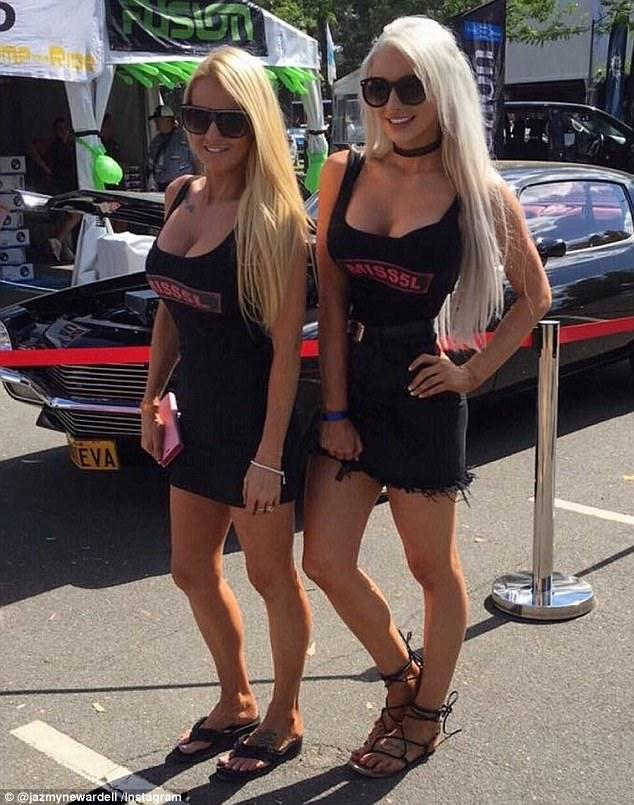 Identical Mom and Daughter Bash Car Festival for Banning Bikini Contest and  Strip Shows