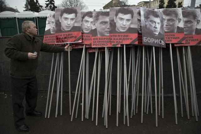 Boris Nemtsov: Washington DC renames street outside Russian