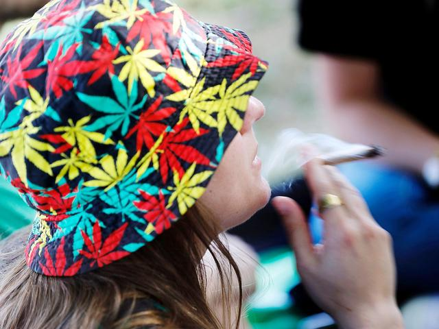 Marijuana legalisation causing violent crime to fall in US states, study finds