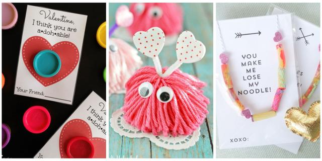 22 Fun And Easy Valentine S Day Crafts For Kids 国际 蛋蛋赞
