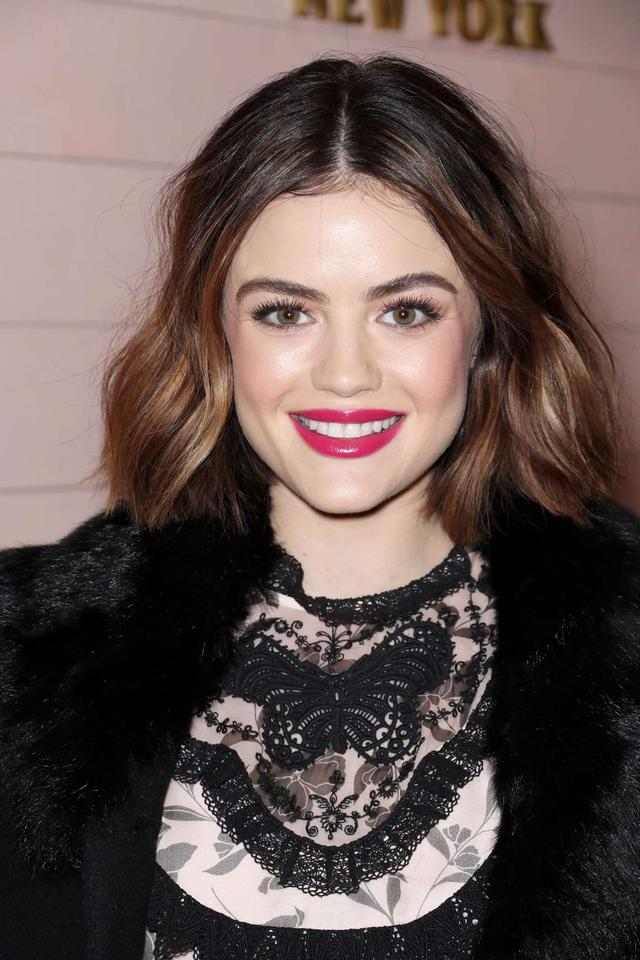 Lucy Hale at Kate Spade Presentation Show 2018