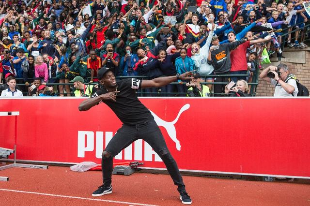 Cool runner: Bolt wouldn't fancy bobsleigh, say Jamaica