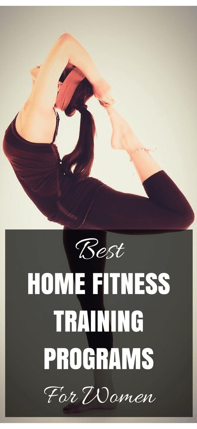 Best Home Fitness Training Programs For Women