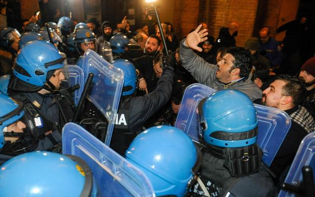 Italy: City where extremist shot Africans braces for protest