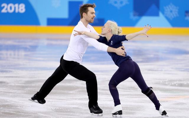 Winter Olympic hopefuls borrow routine from one of British figure skating's masters