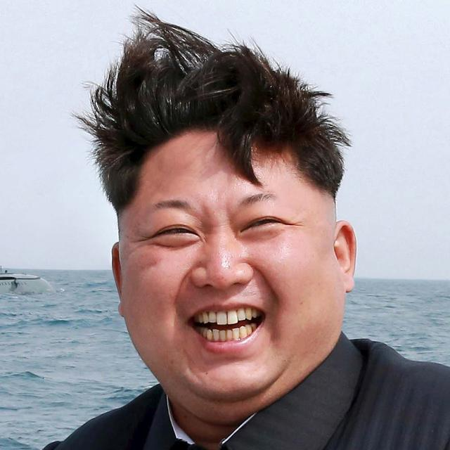 Satire from The Borowitz Report\r  \r Kim Jong Un Taunts Trump with Photo of Hair Withstanding Gale-Force Wind
