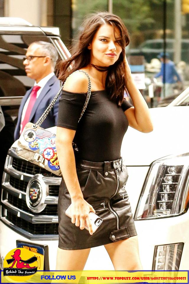 Adriana Lima in New York