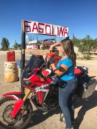Answering One Of Life's Great Questions On A Motorcycle In Mexico