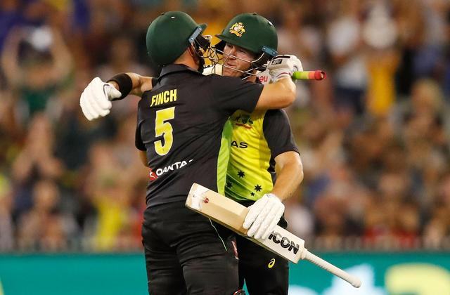 Australia thrash England by seven wickets to book T20 tri-series final spot