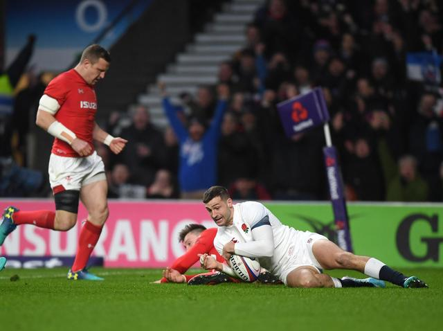 Six Nations LIVE: England beat Wales 12-3 thanks to two Jonny May tries to keep Grand Slam hopes alive