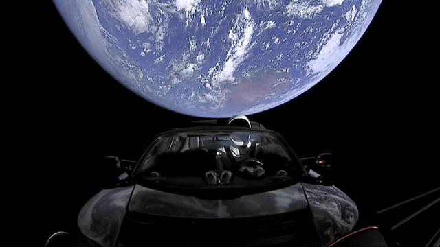 Elon Musk's SpaceX Falcon Heavy 'spotted speeding through space' by virtual telescope