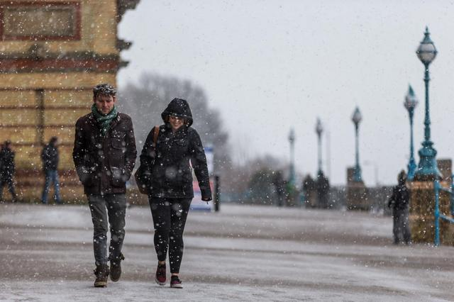 London weather forecast: Freezing wind and rain to batter the capital as cold snap continues