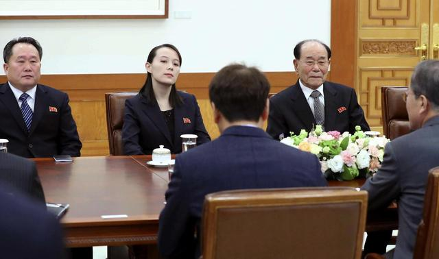 The Latest: Pence wrapping up Olympic visit to South Korea