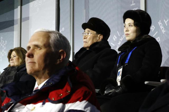 Pence upstaged by 2 Koreas' efforts to warm ties