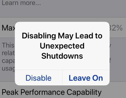 Here's how iOS 11 3 handles an iPhone crash due to a bad