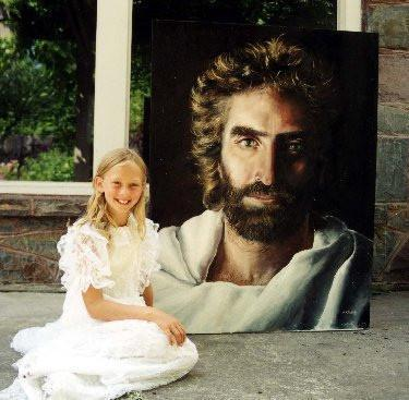 This Young Prodigy Claims She Saw Jesus Christ And Drew A Painting Of How He REALLY Looks Like! You Won't BELIEVE It!