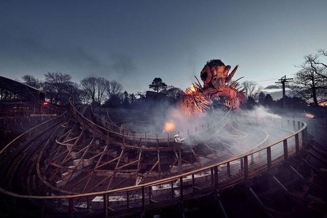 Images released of new Alton Towers ride that bursts into flames