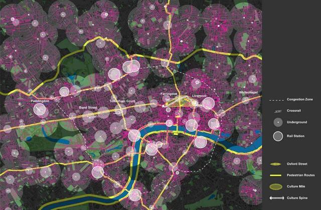 New Map And Images By Leading Uk Architects Reveal Network Of
