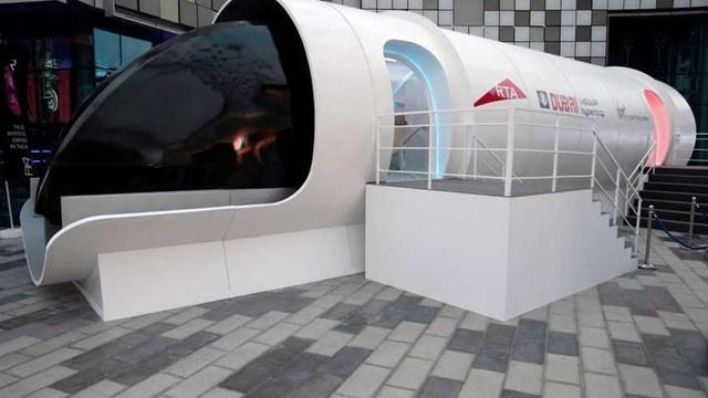 140 kilómetros en apenas 12 minutos: se trata del hyperloop que conectará Dubái con Abu Dabi