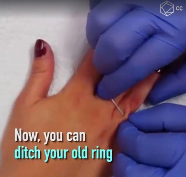 People Are Getting Excruciating Finger Piercings Instead Of A