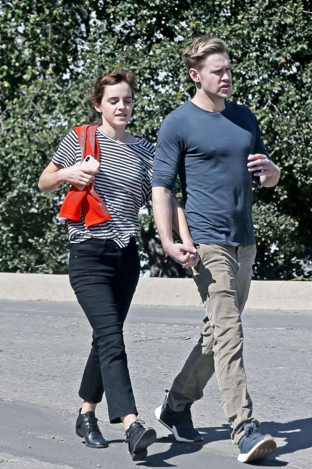 Emma Watson and Chord Overstreet out in Los Angeles