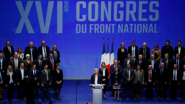 Le Pen seeks party rebranding into 'National Rally' to better appeal to French voters