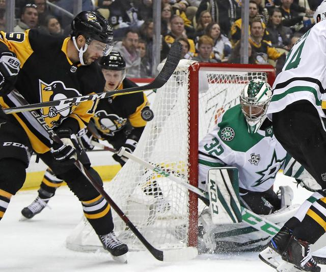 Malkin, Oleksiak's goals help Penguins defeat Stars