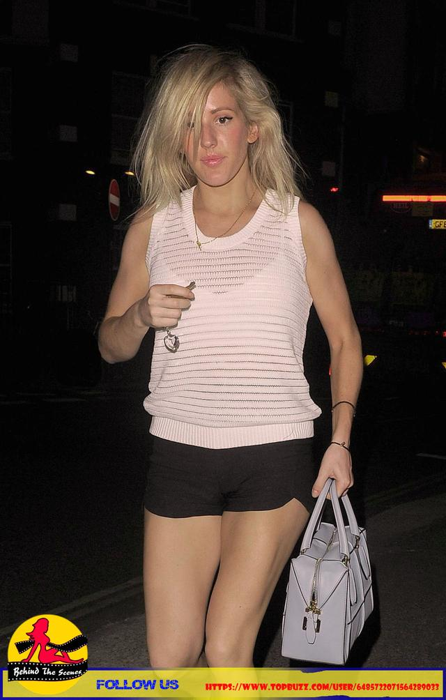 Ellie Goulding - Returning to Her Home in London