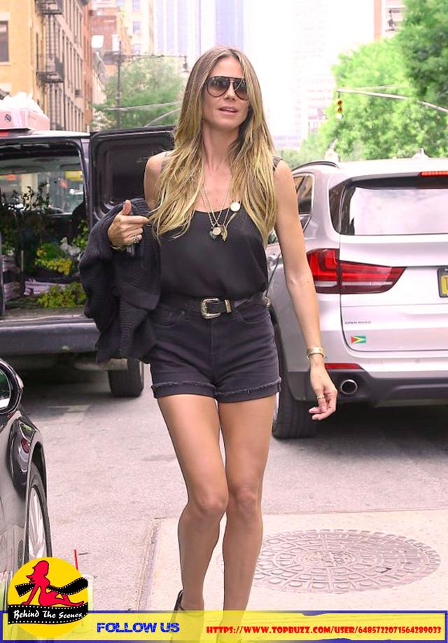 Heidi Klum in New York City