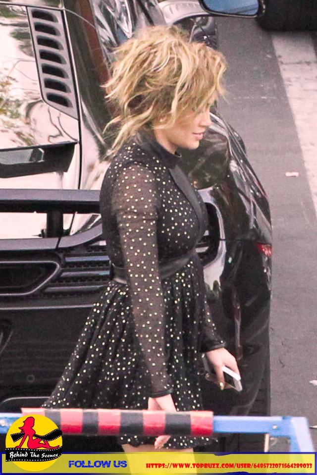 Jennifer Lopez in Black Dress