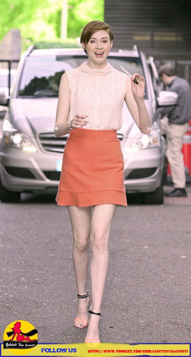 Karen Gillan in London