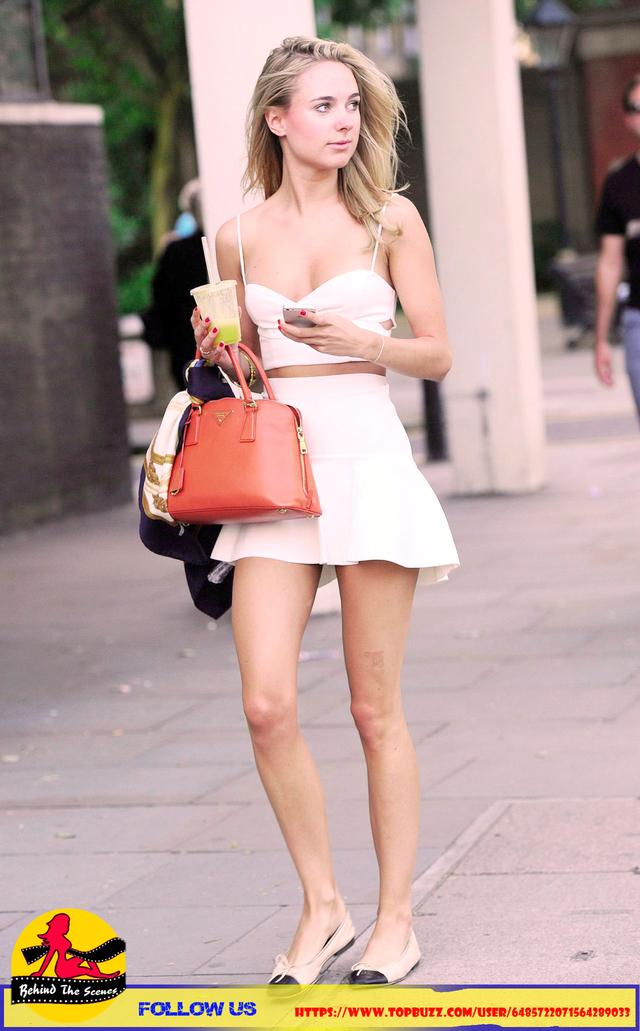 Kimberley Out in London