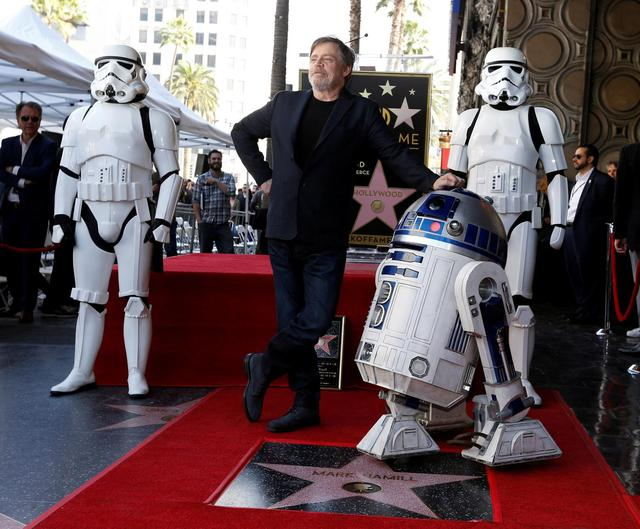 Star Wars' Mark Hamill Gets a Star on the Hollywood Walk of Fame